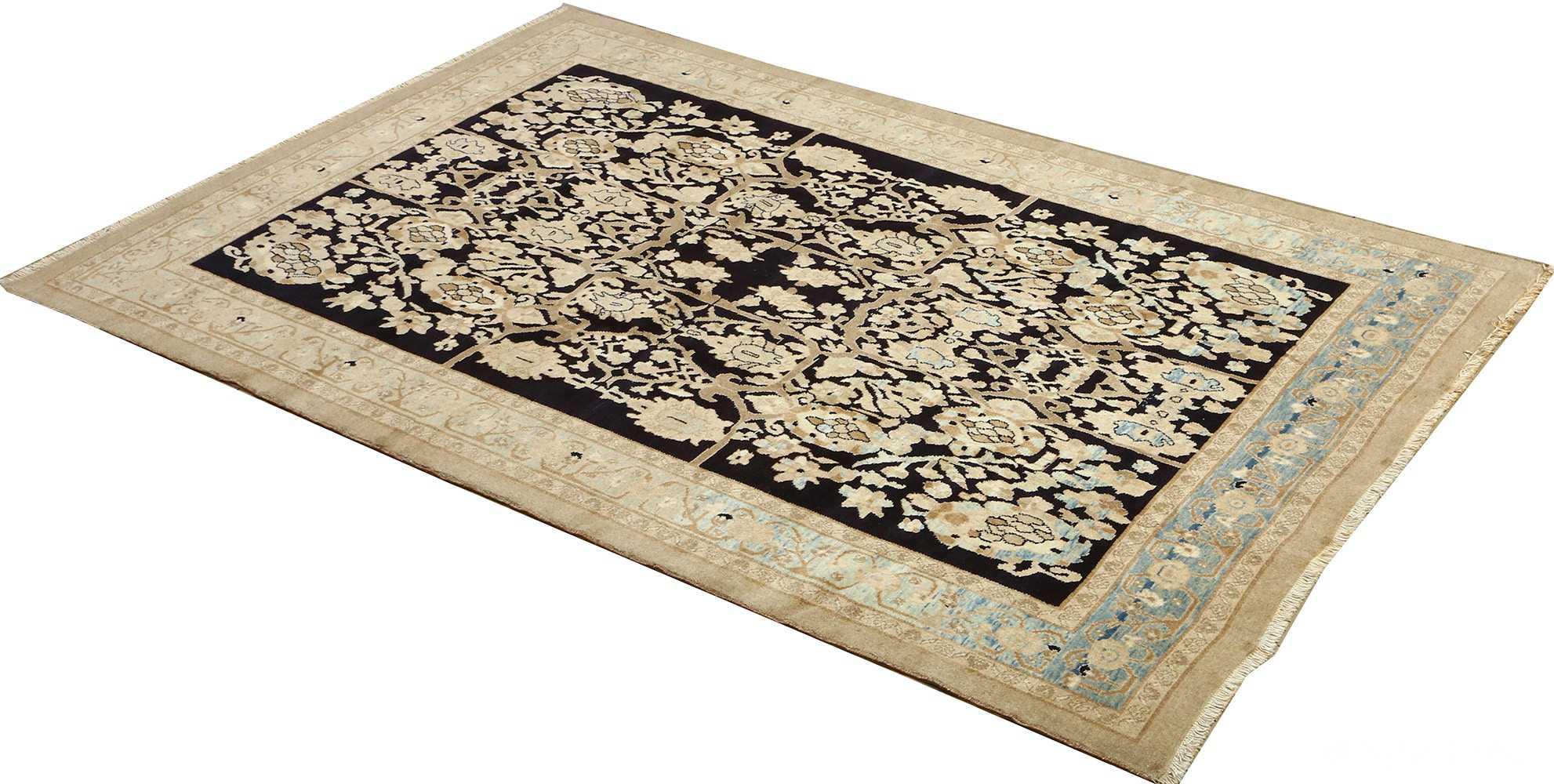 vintage serab persian rug 51092 side Nazmiyal