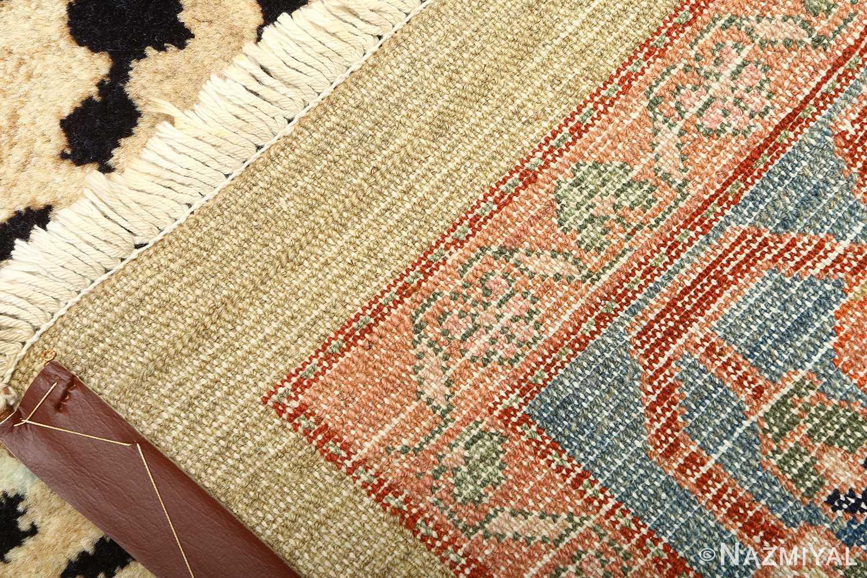 vintage serab persian rug 51092 weave Nazmiyal