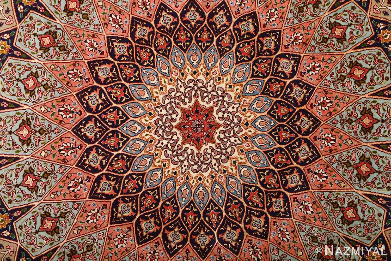 Beautiful Vintage Tabriz Persian Rug 51116 By Nazmiyal