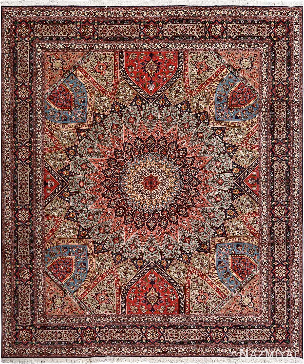 Vintage Persian Rugs: Beautiful Vintage Tabriz Persian Rug 51116 By Nazmiyal