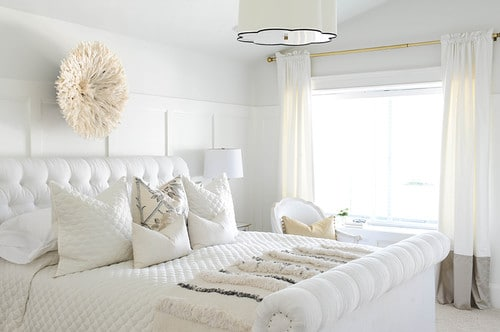 White on Off White Interior Design Trend, Nazmiyal