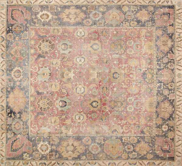 17th Century Persian Isfahan Carpet, Nazmiyal