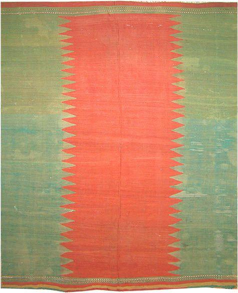 Antique Kilim Carpet By Nazmiyal