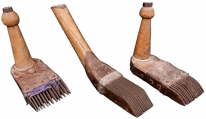 Rug Weaving Combs Nazmiyal