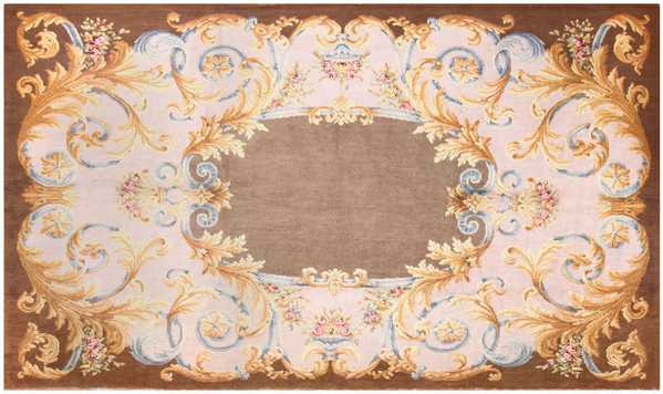 Large Antique Savonnerie French Rug, Nazmiyal