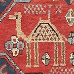 Camel Design In Antique Rugs by Nazmiyal