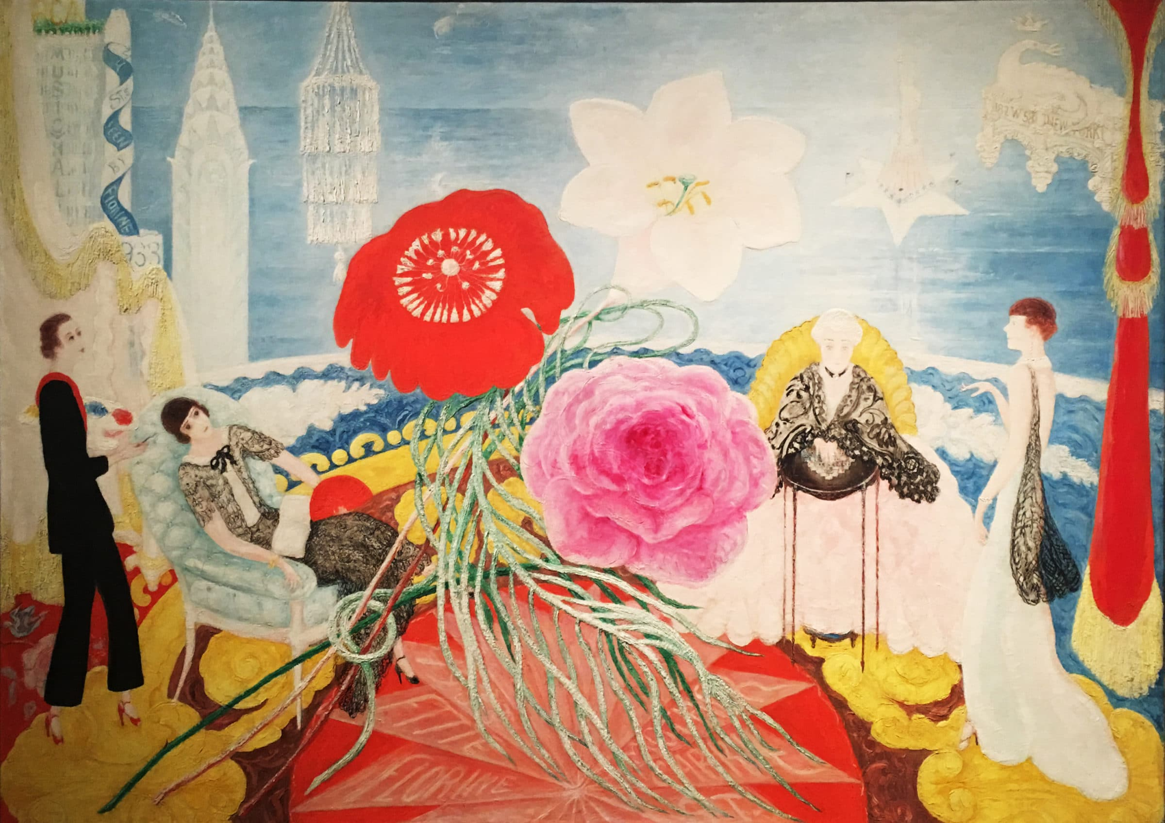 Florine Stettheimer, Nazmiyal Antique Rugs