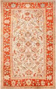 large antqiue ziegler sultanabad rug 49322 Nazmiyal