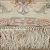 large ivory vintage tabriz persian rug 51157 signature Nazmiyal