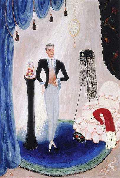 Portrait of Barron De Meyer, Florine Stettheimer, 1923