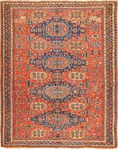 roomsize antique soumak caucasian rug 49340 Nazmiyal