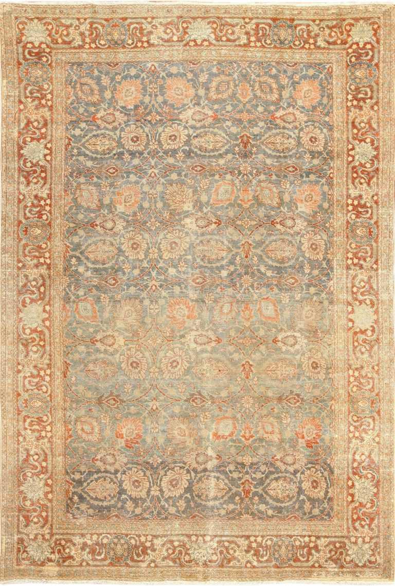 roomsize antique tabriz persian rug 49354 Nazmiyal