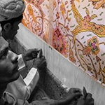 Rug Weaving Design Cartoon by Nazmiyal