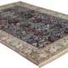 tree of life design vintage nain persian rug 51156 side Nazmiyal