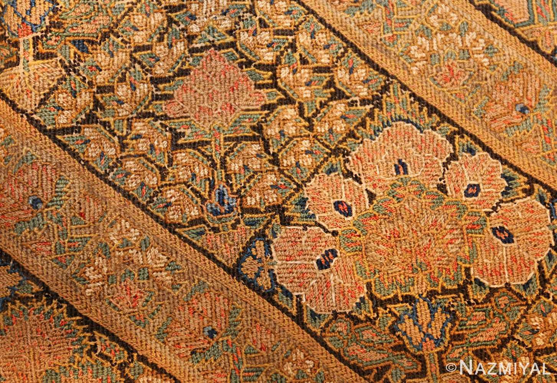 17th century persian textile 40547 detailed Nazmiyal