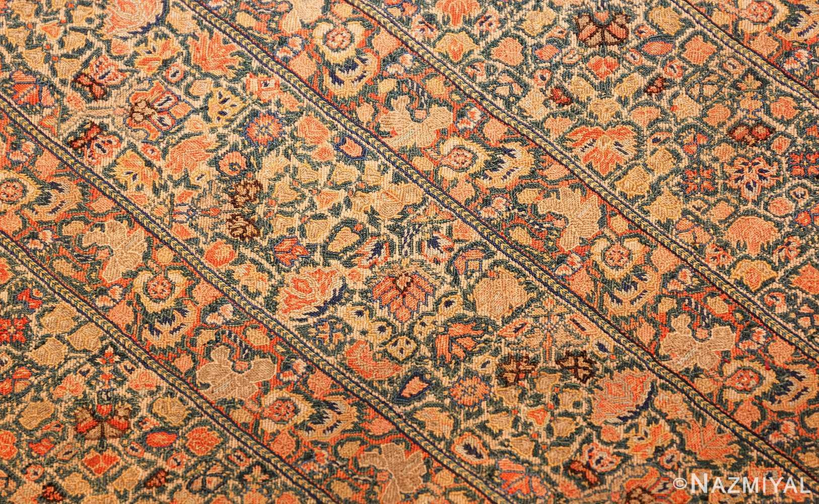 17th century zanjan textile 40908 center Nazmiyal