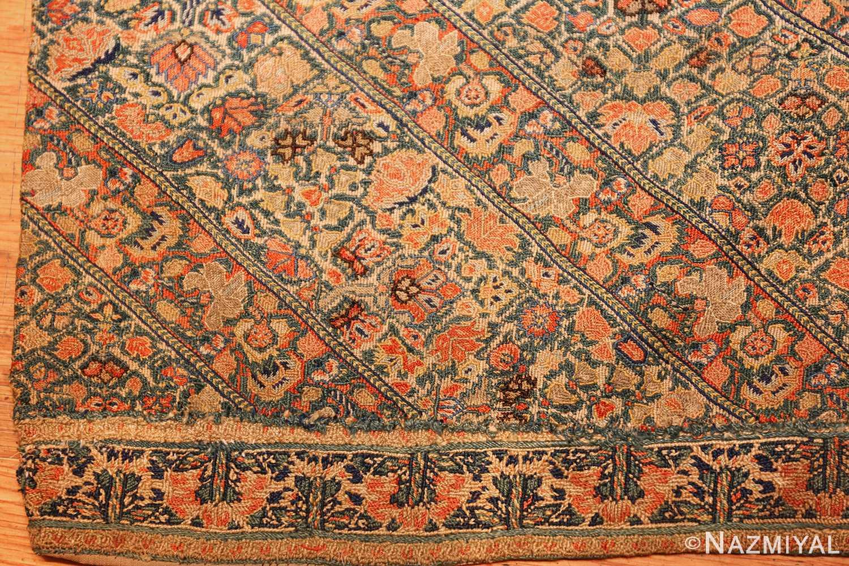 17th century zanjan textile 40908 corner Nazmiyal