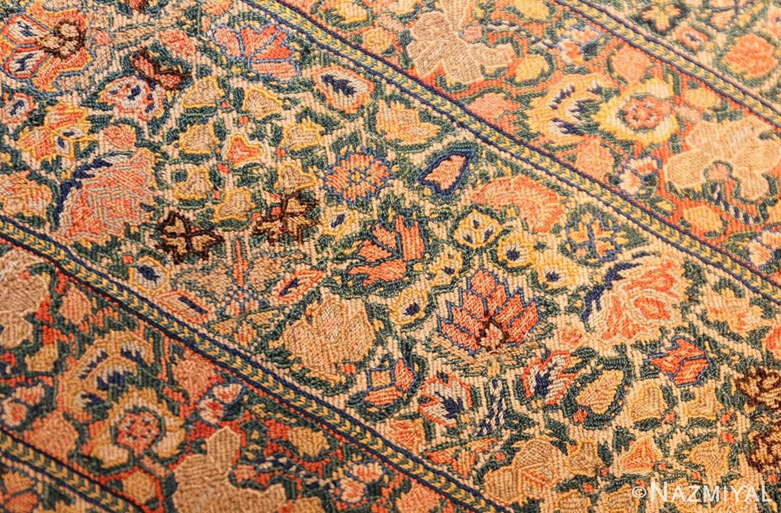 17th century zanjan textile 40908 flowers Nazmiyal