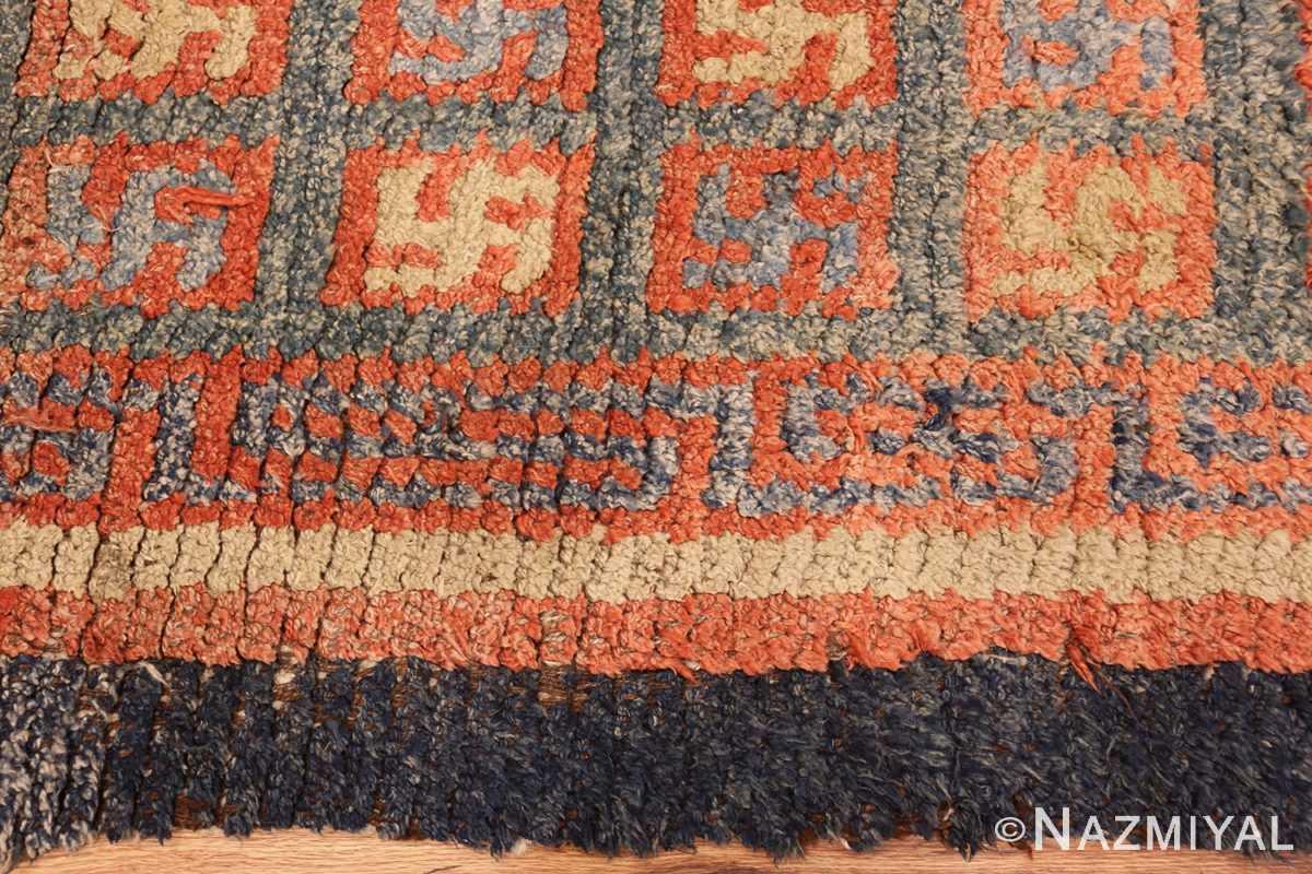 19 century tibetan wongdon runner rug 49101 border Nazmiyal