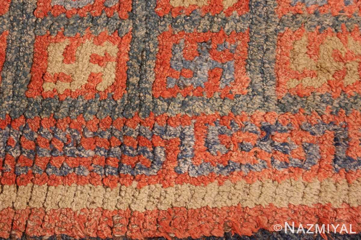 19 century tibetan wongdon runner rug 49101 design Nazmiyal