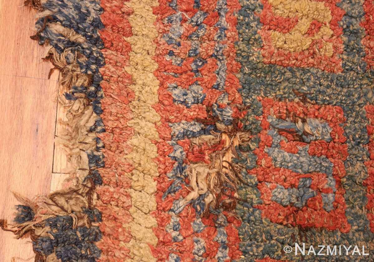 19 century tibetan wongdon runner rug 49101 down Nazmiyal