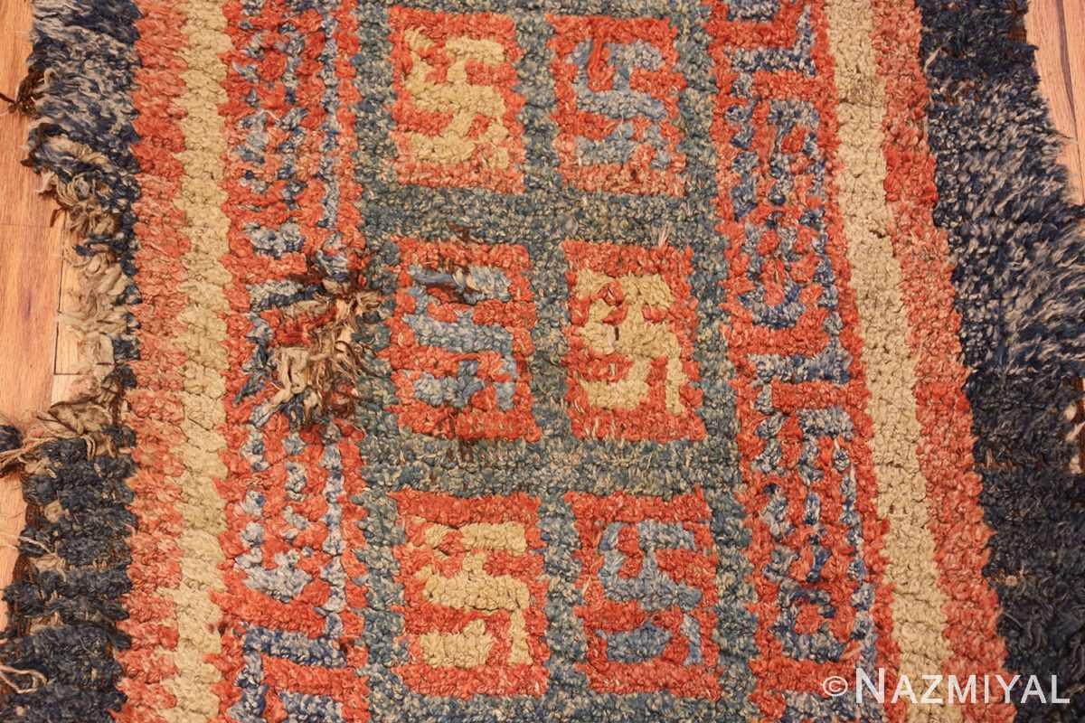 19 century tibetan wongdon runner rug 49101 side Nazmiyal