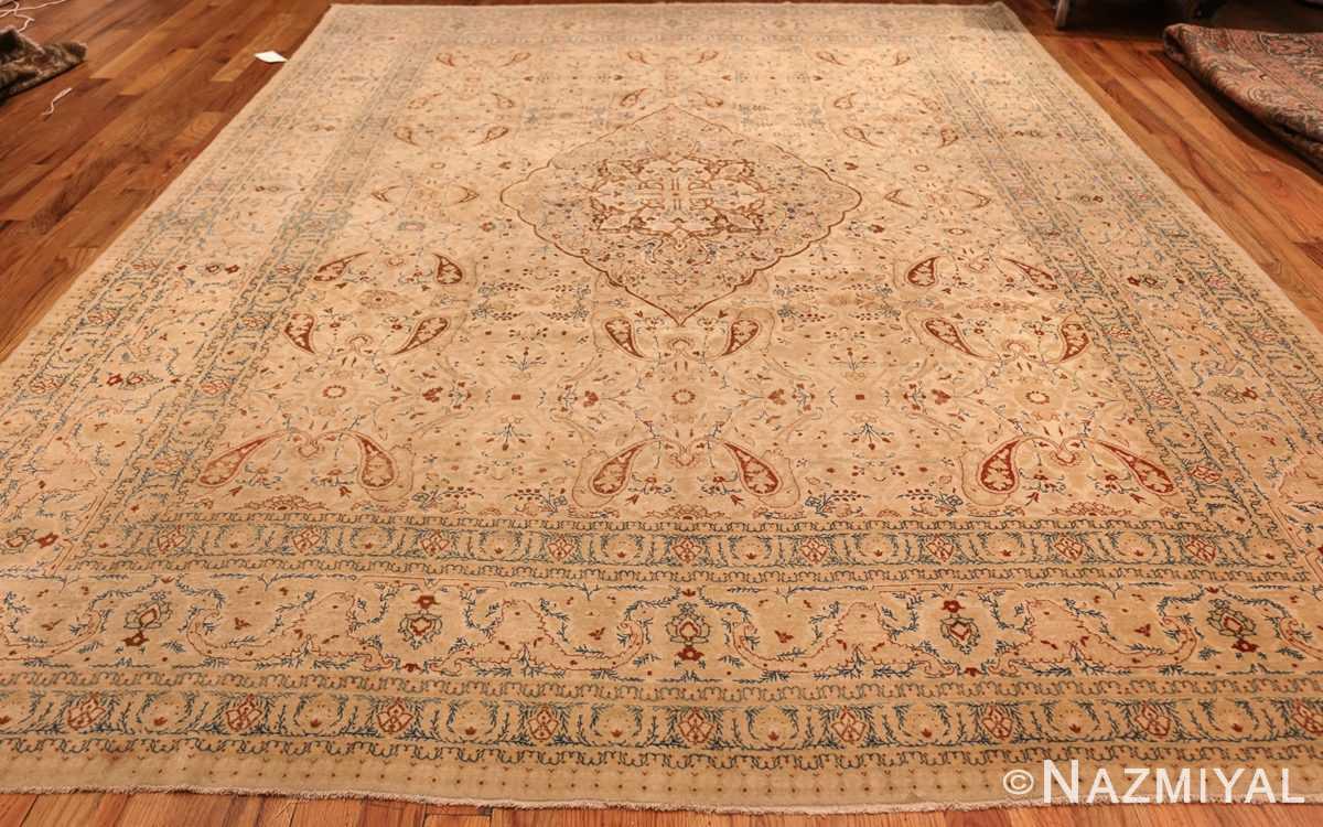 Ivory background tabriz haji jalili rug 49347 whole Nazmiyal