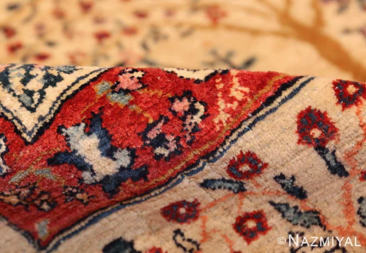antique animal motif tehran persian rug 49303 pile Nazmiyal