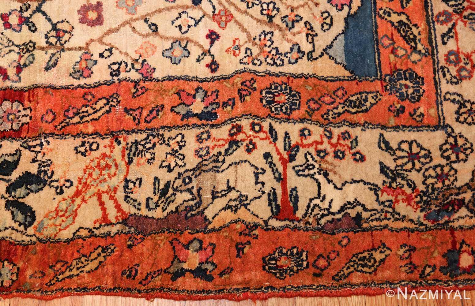 Beautiful Antique Tehran Persian Rug 49303 By Nazmiyal
