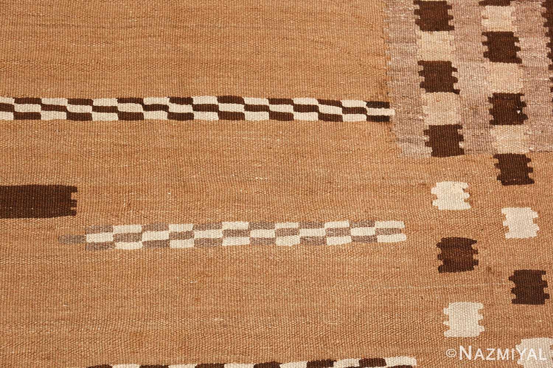 antique french art deco kilim rug 49256 field Nazmiyal