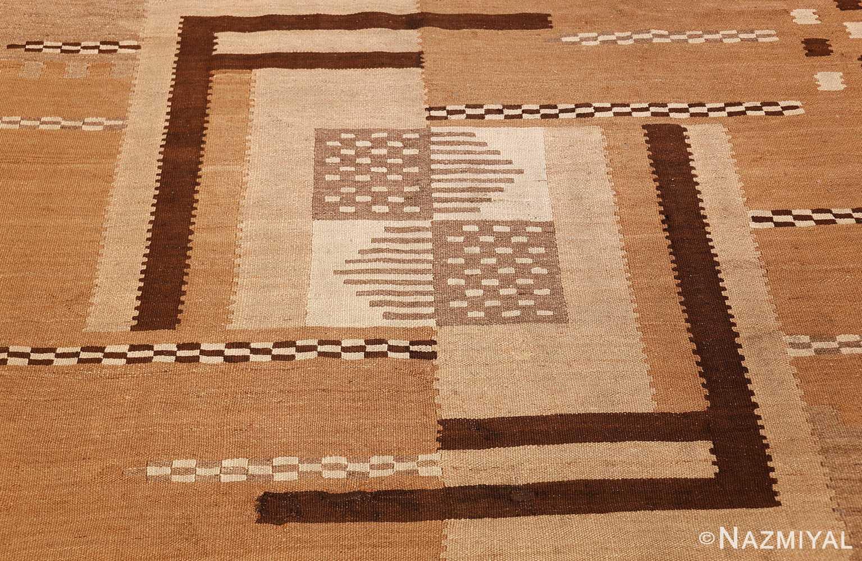 antique french art deco kilim rug 49256 middle Nazmiyal
