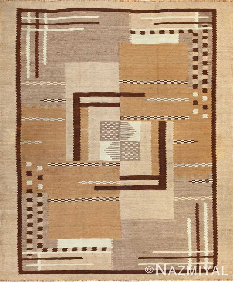antique french art deco kilim rug 49256 nazmiyal