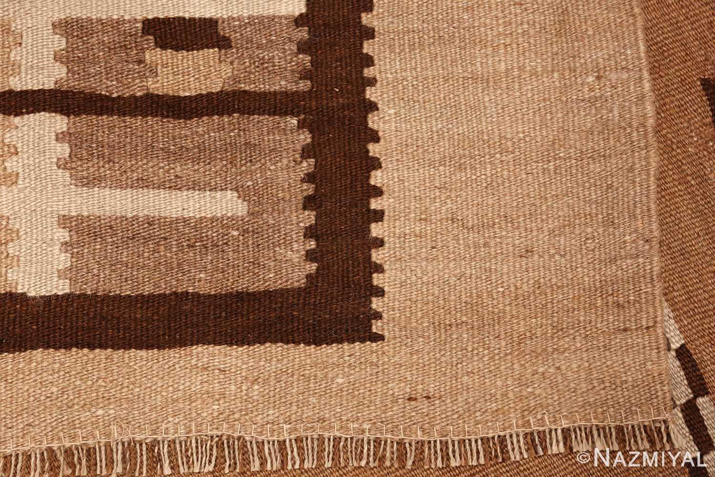 antique french art deco kilim rug 49256 weave Nazmiyal