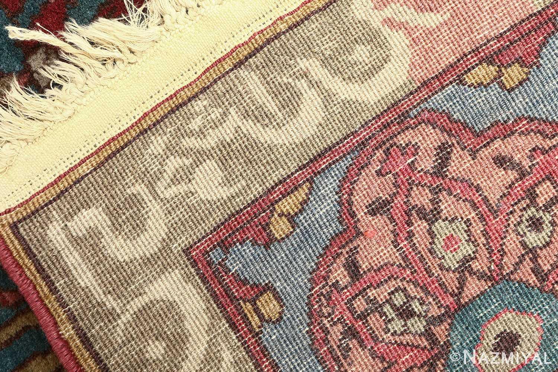 antique prayer design agra indian rug 51175 weave Nazmiyal