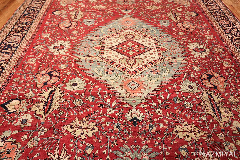 antique red tabriz persian rug 49348 full Nazmiyal