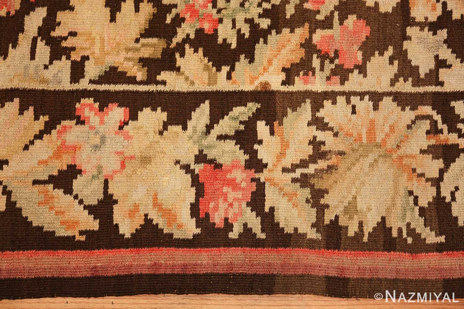 antique romanian bessarabian rug 49298 border Nazmiyal