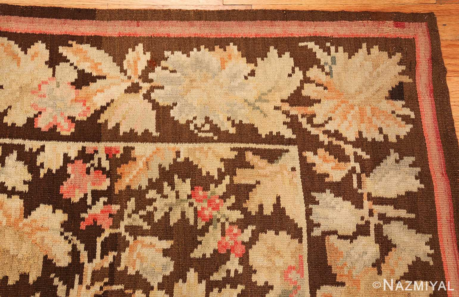 antique romanian bessarabian rug 49298 corner Nazmiyal