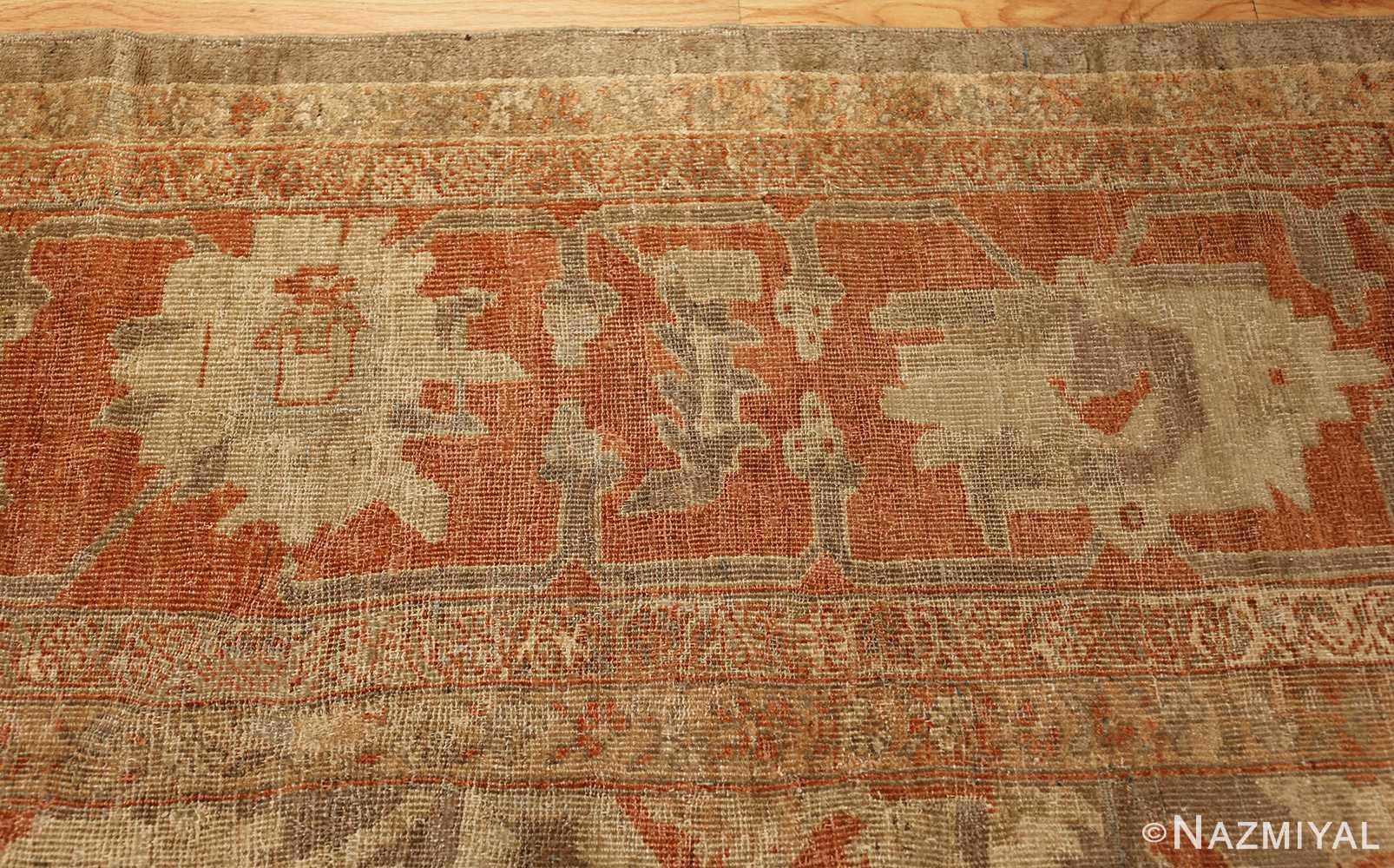 antique sultanabad persian rug 49334 border Nazmiyal