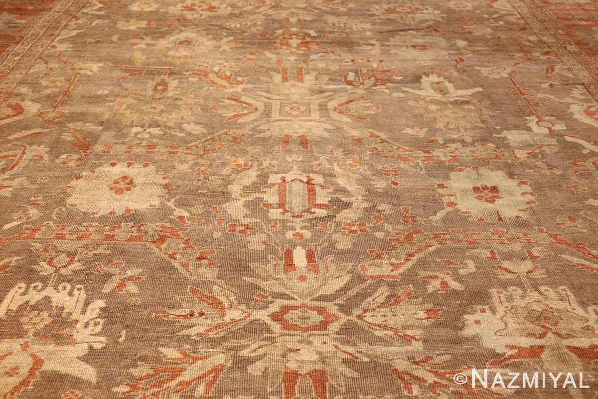 antique sultanabad persian rug 49334 field Nazmiyal