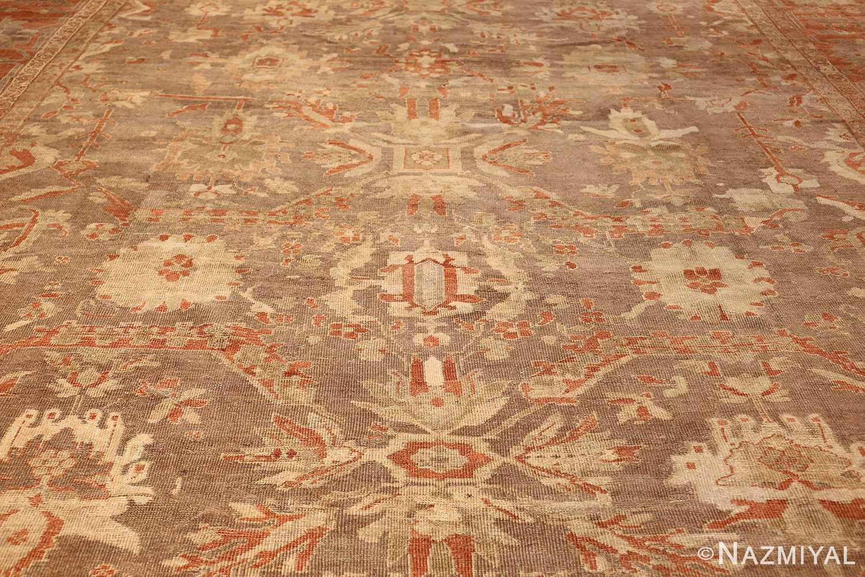 antique sultanabad persian rug 49334 field Nazmiyal