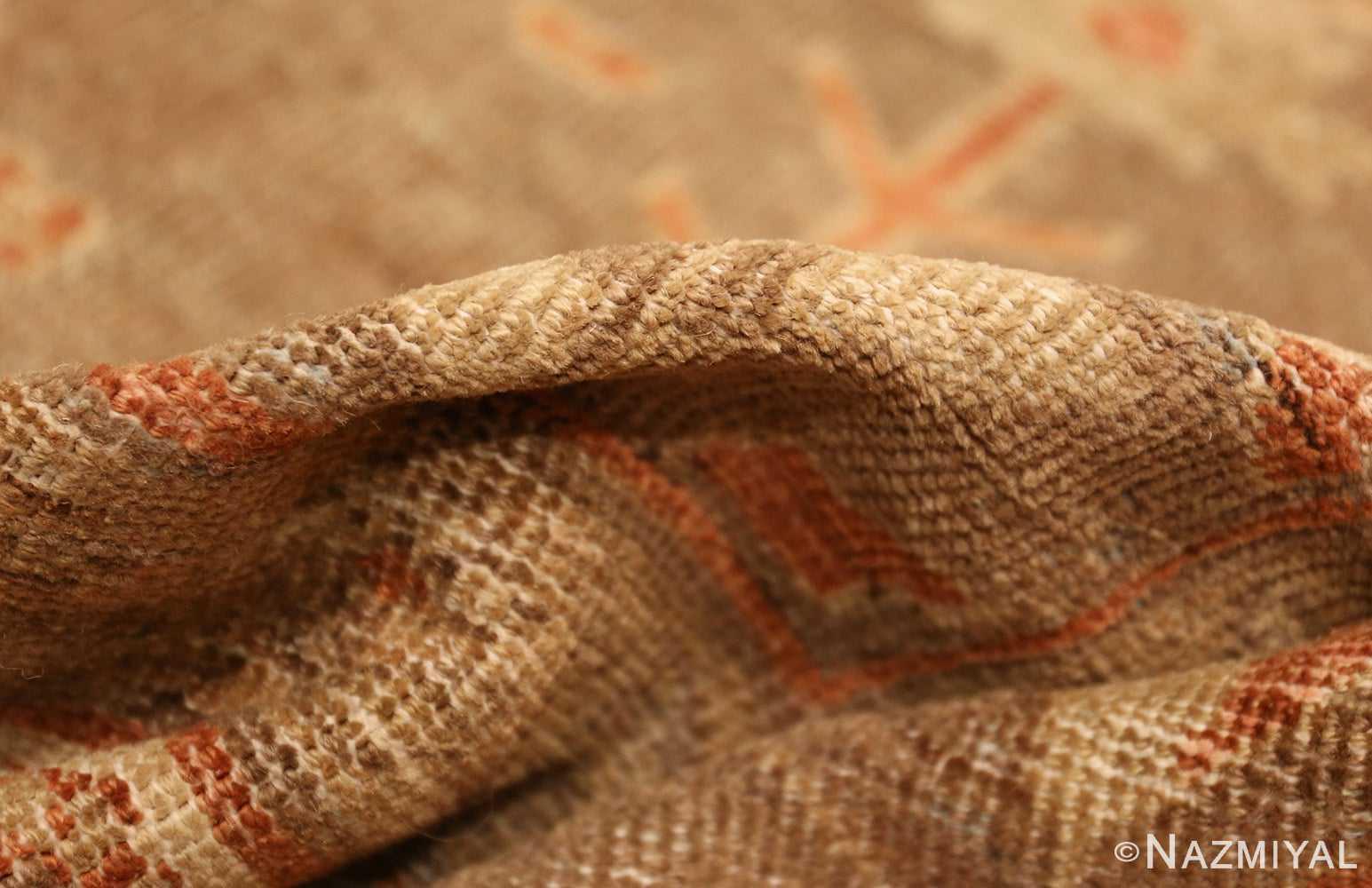 antique sultanabad persian rug 49334 pile Nazmiyal