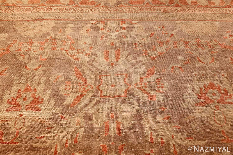 antique sultanabad persian rug 49334 top Nazmiyal