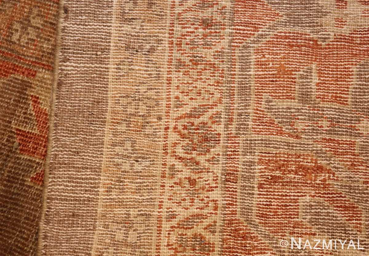antique sultanabad persian rug 49334 weave Nazmiyal