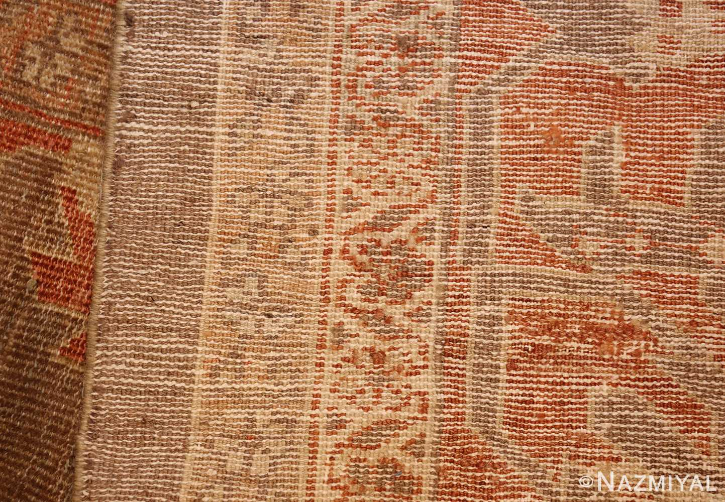 antique sultanabad persian rug 49334 weave Nazmiyal