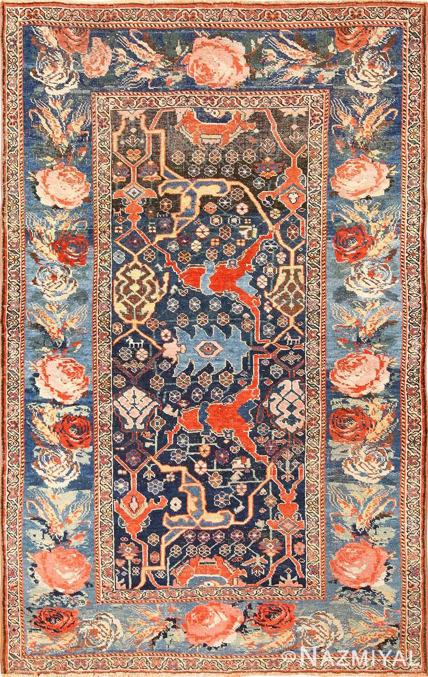 Beautiful Antique Tribal Bidjar Persian Rug 49280 By Nazmiyal