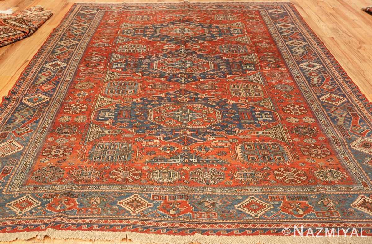 antique tribal soumak caucasian rug 49342 whole Nazmiyal