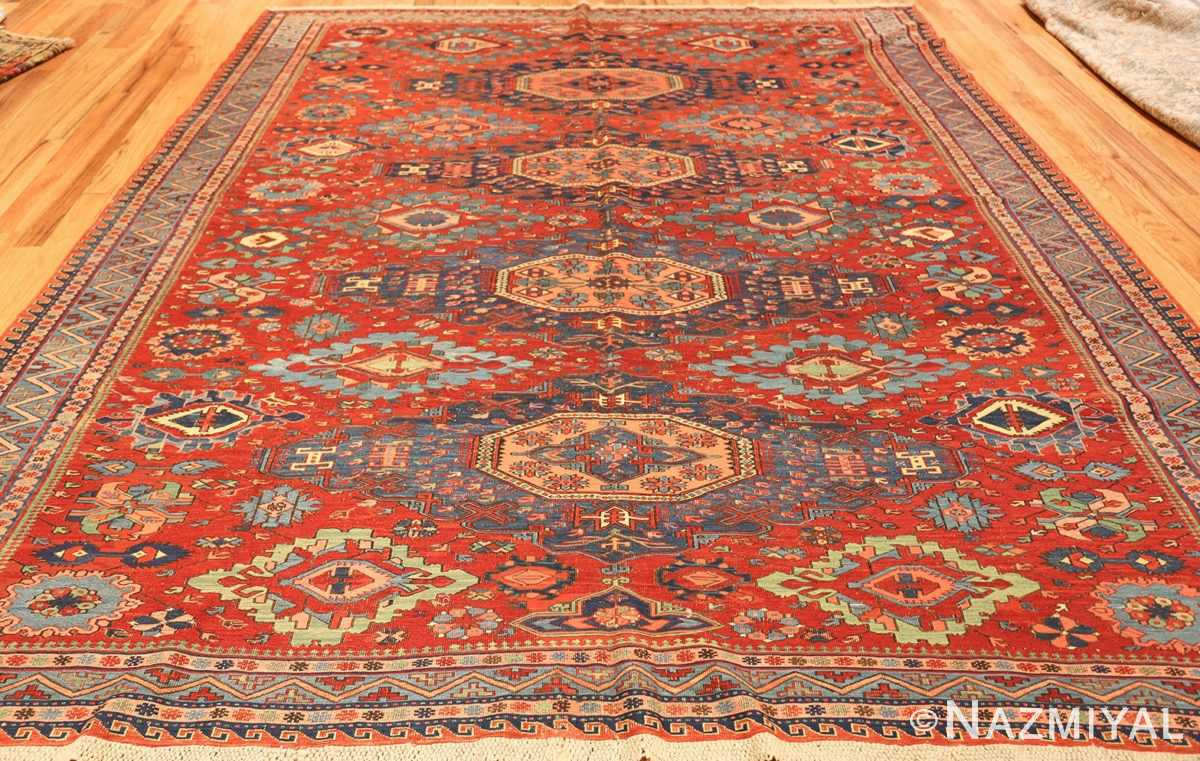 antique tribal soumak caucasian rug 49345 whole Nazmiyal