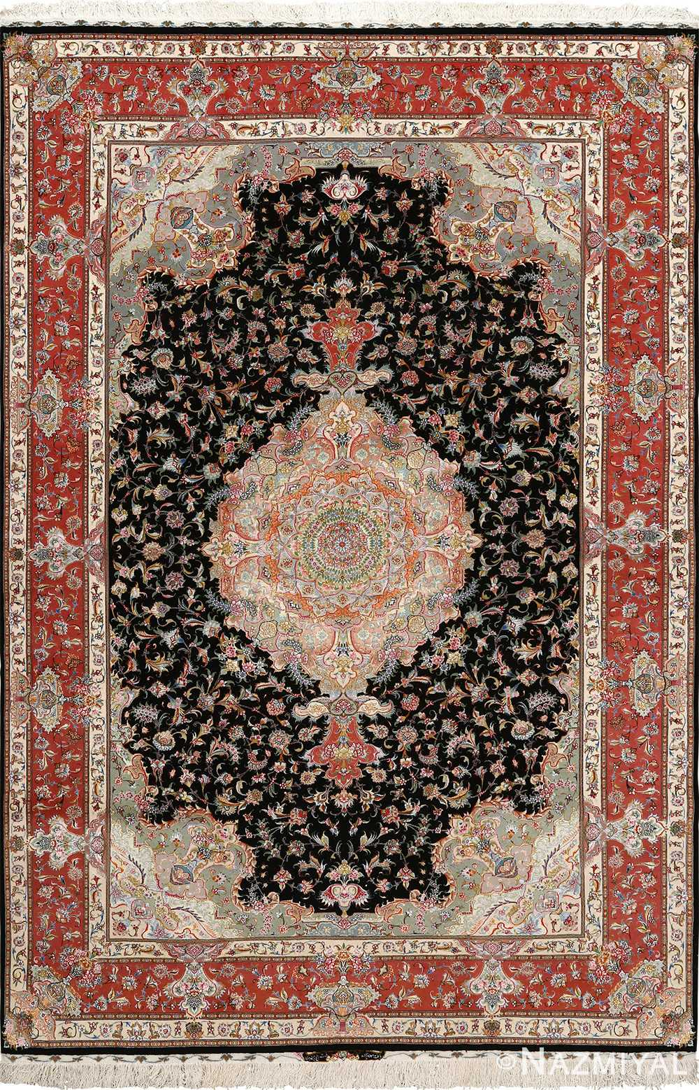 Intricate Vintage Tabriz Persian Rug 51127 By Nazmiyal