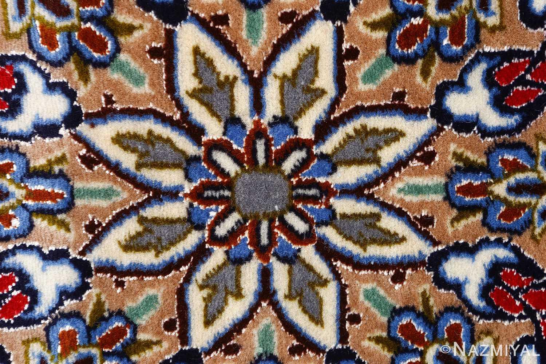 dark navy vintage isfahan persian rug 51141 middle Nazmiyal