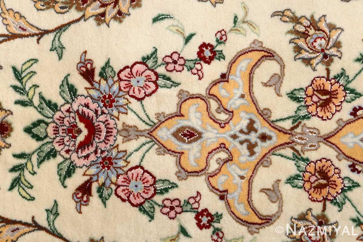 floral vintage isfahan persian rug 51152 tiara Nazmiyal